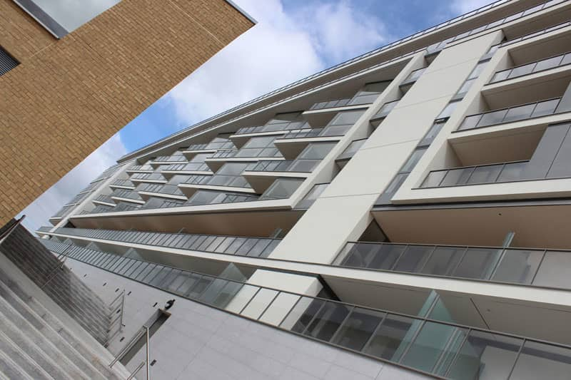 New Riverside Residences Select Sapphire's Beautiful Balcony Balustrades