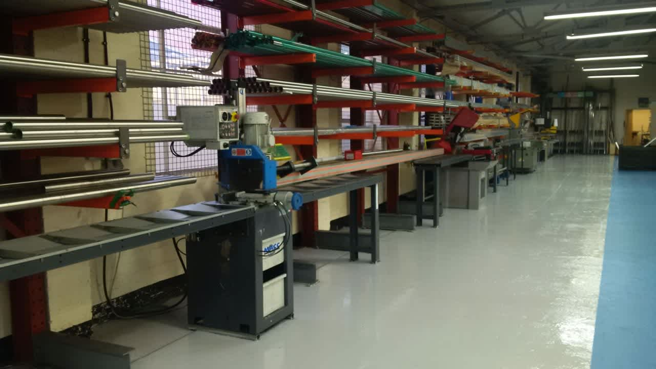 lean production in balustrade factory