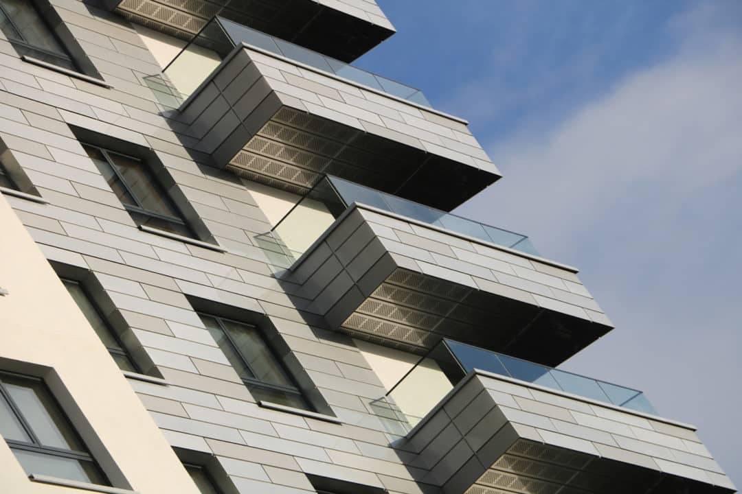Sapphire creates innovative façade integration with balustrades for Reading's new landmark apartments, Chatham Place
