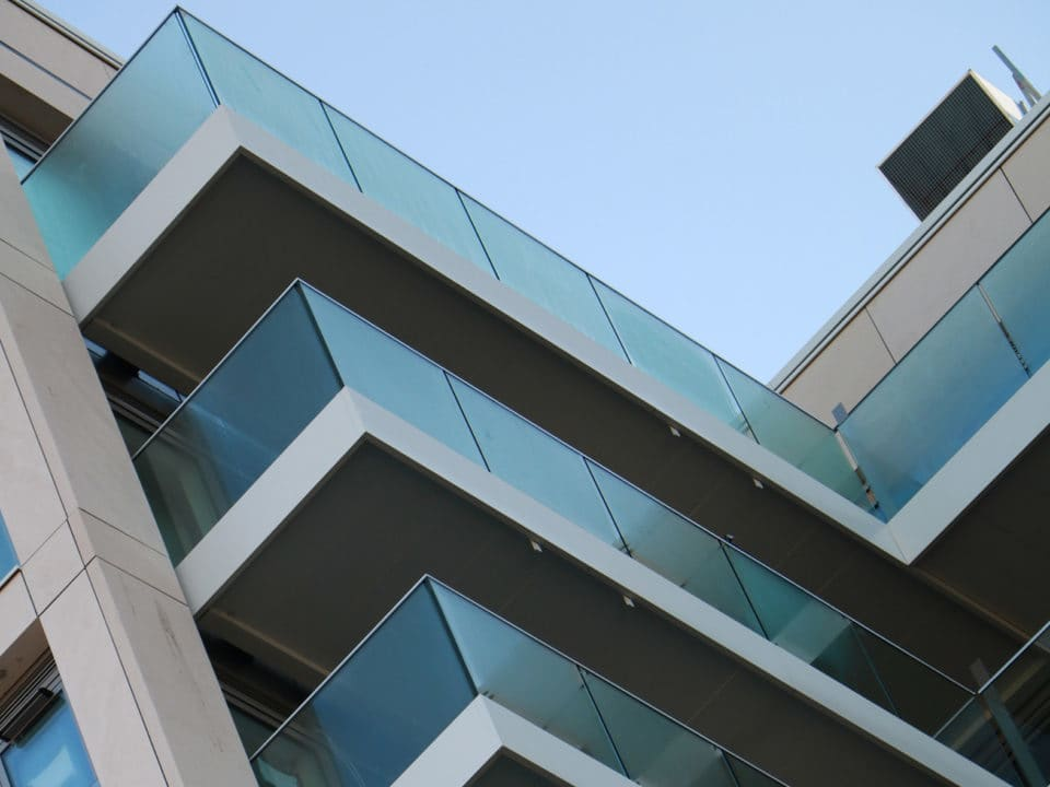 Sapphire delivers continuous balconies for stylish Northway House residential development refurb