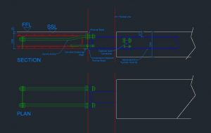 balcony anchor DWG generated by balcony configurator